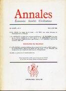annales. économíe. sociétés. civilisations. année 40. nº 3. - fernand  braudel -