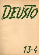 deusto. revista trimestral publicada por los alumnos de la universidad de deusto. nº 13-4. - v.v. a.a. - universidad de deusto.