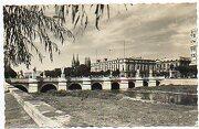 tarjeta postal: 213. burgos. vista general del puente de san pablo. - ediciones arribas. - ediciones arribas.
