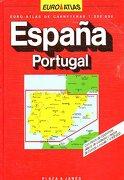 euro-atlas de carreteras. escala 1:300.000. españa y portugal. - plaza & janés. - plaza & janés
