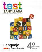 Test 4 Básico Lenguaje - Santillana - Santillana