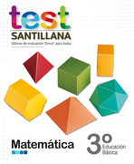 Test 3 Básico Matemática - Santillana - Santillana