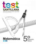 Test 5º Basico Matematica. Talleres Evaluacion Simce (Santillana) - Santillana - Santillana