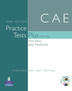 Cae Practice Tests(+[With key and Audio Cd]) (Practice Tests Plus) (libro en Inglés) - Nick Kenny - Pearson