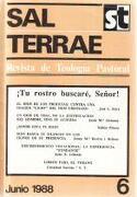 Sal Terrae (Revista De Teología Pastoral), 6. Junio 1988 -  - Sal Terrae