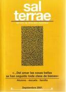 Sal Terrae, Revista De Teología Pastoral. Septiembre 2001. Tomo 89 / 8 (N. 1048) -  - Sal Terrae
