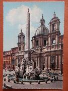 Piazza Navona. Fontana Del Bernini. Roma - Diversos Autores -