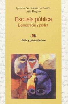 portada escuela pública: democracia y poder