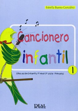 portada Cancionero Infantil, 1 (RM Pedag.Educacion)