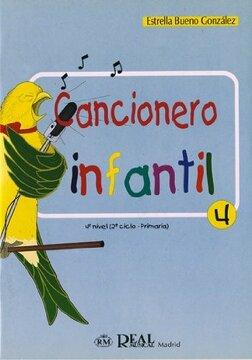 portada Cancionero Infantil, 4 (rm Pedag. Educacion)