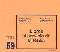 portada Libros al servicio de la Biblia