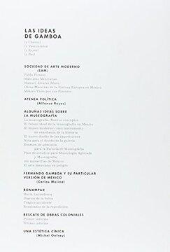 portada Las Ideas de Gamboa