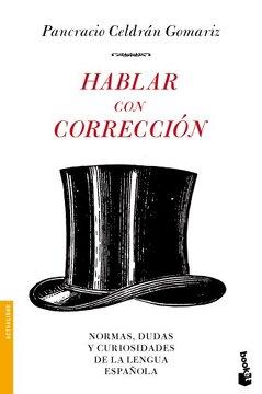 portada Hablar con Correcion Nê3235. Booket.