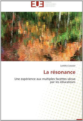 La resonance; laetitia louvier