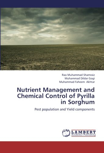 Nutrient management and chemical control of pyrilla in sorghum: pest population and yield components; rao muhammad shamraiz