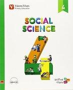 Ep 4 - Ciencias Sociales (Ingles)  - Aula Activa (cd no Incluido) - 9788468229065 - Varios Autores - Editorial Vicens Vives