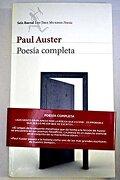 Poesia Completa - Paul Auster - Booket