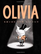 Olivia Saves the Circus (Classic Board Books) (libro en Inglés) - Ian Falconer - Atheneum Books for Young Readers
