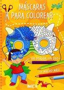 Mascaras Para Colorear (Naranja) - Varios Autores - BALLON