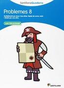 Santillana Quaderns Problemes 8 Santillana (libro en Catalán) - Varios Autores - Santillana