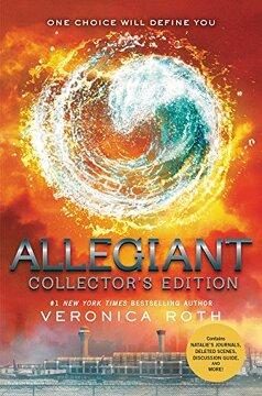 portada Divergent 3. Allegiant. Collector's Edition