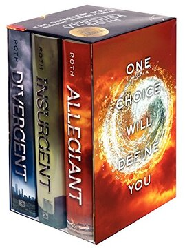 portada Divergent Series Complete Box Set