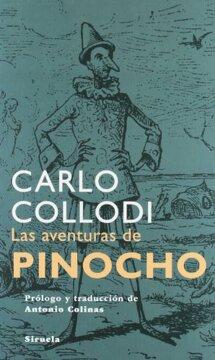 portada AVENTURAS DE PINOCHO(SIRUELA)