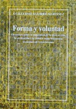 portada Forma y Voluntad (Ensayo)