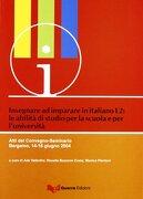 Insegnare Ad Imparare In Ital L2 - Cis, Grassi -