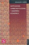 instituciones, cambio instituci - north douglass c. - fce (mexico)