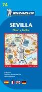 Plano Plegable Sevilla (Planos Michelin) (libro en Inglés) - Michelin - Michelin Maps
