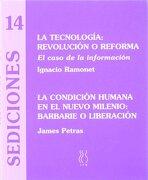 La tecnología,revolución o reforma (Sediciones) - Ignacio Ramonet - Hiru Argitaletxea