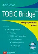 Achieve Toeic Bridge: Test-Preparation Guide (Achieve Toeic and Achieve Toeic Bridge) (libro en inglés) - Renald Rilcy - Cengage Learning