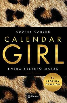 portada Calendar Girl 1 (Enero, febrero, marzo)