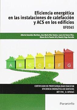 portada Eficiencia Energética en las Instalaciones de Calefacción y acs en los Edificios. Certificados de Profesionalidad. Eficiencia Energética de Edificios