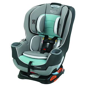 Graco Extend2Fit Convertible Car Seat, Ride Rear Facing Longer with Extend2Fit, Spire Style:2-in-1-Color:Spire (B019EGMGNE-com) new