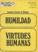 Humildad y virtudes Humanas.