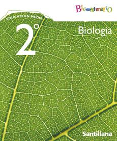 portada Biología 2° Medio (Proyecto Bicentenario) (Santillana)