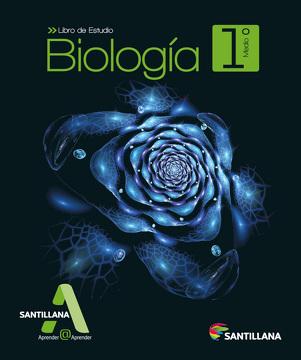 portada Biología 1º Medio (Proyecto Aprender@Aprender) (Santillana)