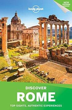 portada Lonely Planet Discover Rome 2017