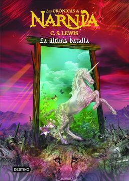 portada Crónicas de Narnia 7. La Última Batalla