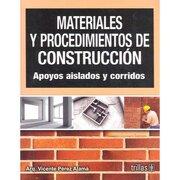 materiales y procedimientos de construcc. - perez alama vicente - trillas