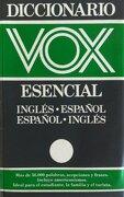 Diccionario vox esencial inglés-español, español inglés - VV.AA. - DICCIONARIOS
