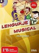 Lenguaje Musical vol. 1B +CD, grado elemental (RM Lenguaje Musical)