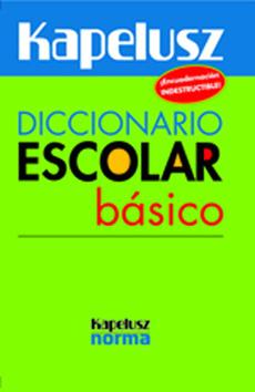 portada Diccionario Escolar Basico
