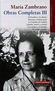 Libros (1955-1973): Obras completas. Vol. III - María Zambrano - Galaxia Gutenberg, S.L.
