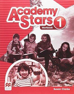 portada Academy Stars 1 Workbook (libro en Inglés)