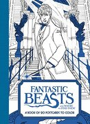 Fantastic Beasts and Where to Find Them: A Book of 20 Postcards to Color (libro en Inglés) - Harpercollins Publishers - Harper Design
