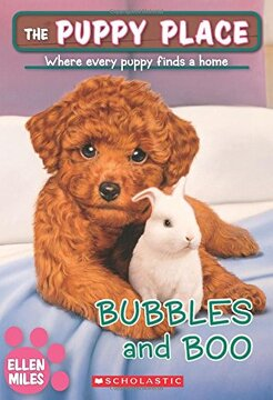 portada Bubbles and boo (The Puppy Place #44) (libro en Inglés)