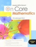 Houghton Mifflin Harcourt Math Common Core: Student Workbook Grade K - Houghton Mifflin Harcourt - Houghton Mifflin Harcourt (HMH)